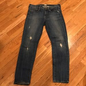 J. Crew Distressed Stretch Jeans